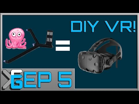 DIY Room Scale VR tutorial! DIY VR EP 5 (DIY Vive) (DIY Oculus Rift) (DIY  Positional Tracking)
