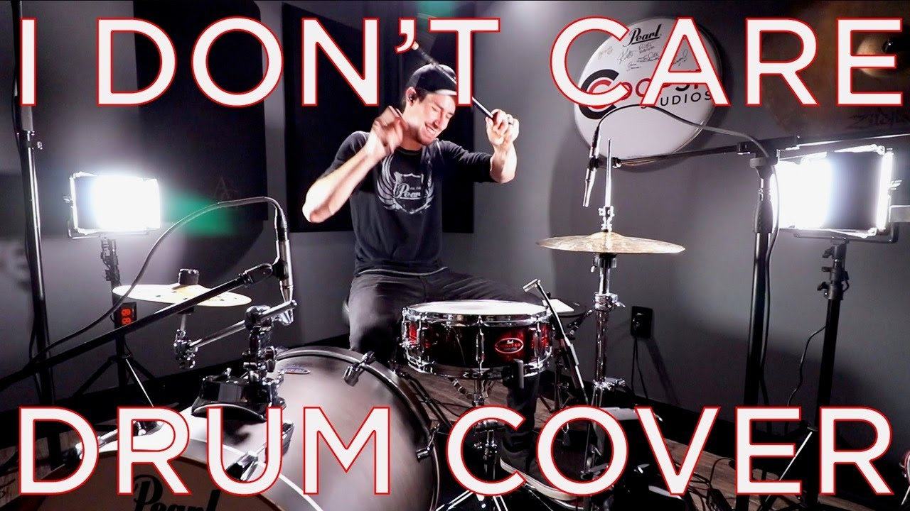 I DON'T CARE - DRUM COVER - NEW ED SHEERAN & JUSTIN BIEBER