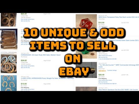 10 unique & odd items to sell on Ebay for Profit - YouTube