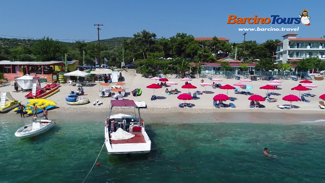 Tasos Limenaria Plaza Ii Deo Barcino Tours Letovanje