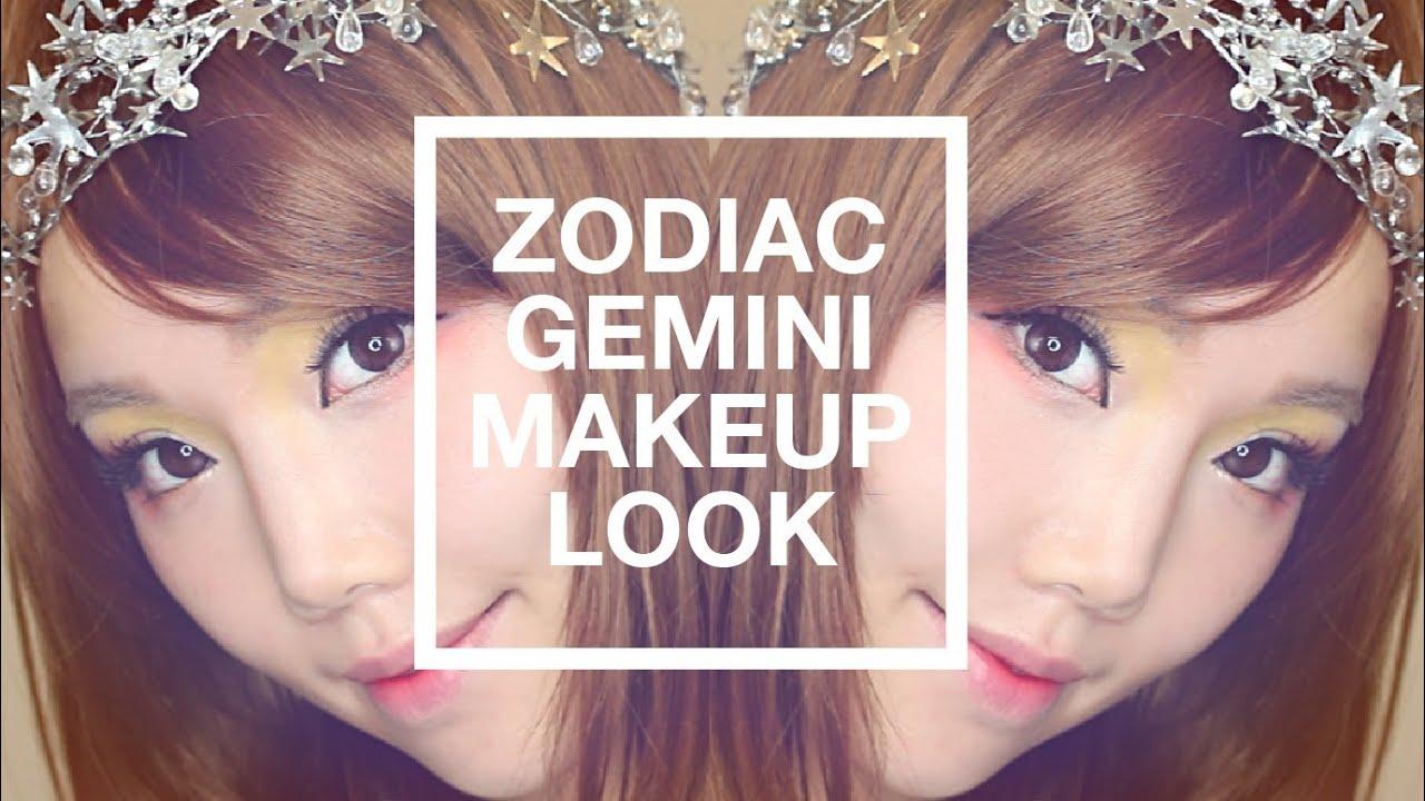【BrenLui大佬B】你是雙子座 Gemini Makeup Look - YouTube