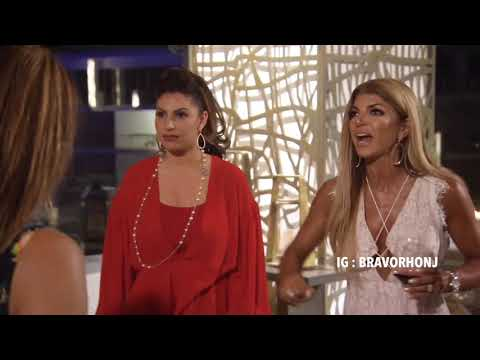 RHONJ Season 9 Cabo Fight! (Danielle, Jennifer & Teresa vs. Margaret, Melissa, Dolores & Jackie)