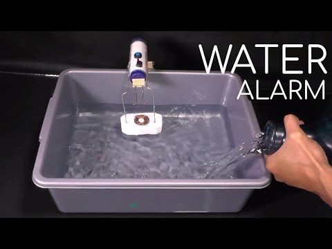 How to Make a Flood Alarm (Homemade Water Level Indicator Alarm)