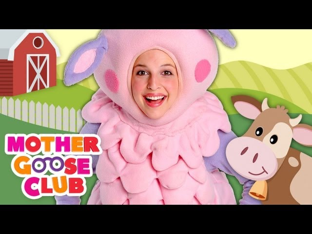 Old MacDonald Had a Farm - Mother Goose Club Kids Songs Travel Video