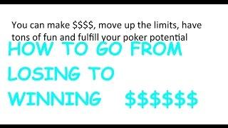 Can U make BIG money playing poker?