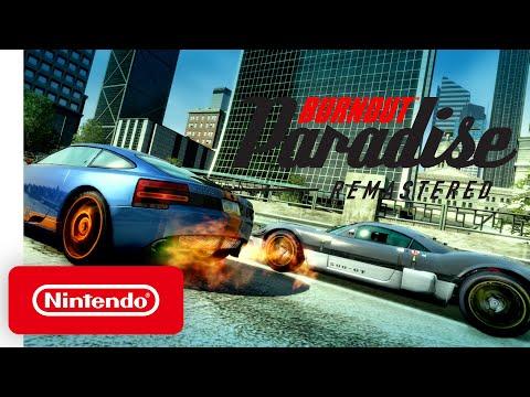 Burnout Paradise Remastered - Announcement Trailer - Nintendo Switch