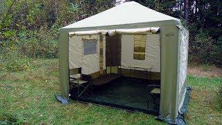 видео Как собрать шатер (тент) для дачи своими руками: мастер-классы