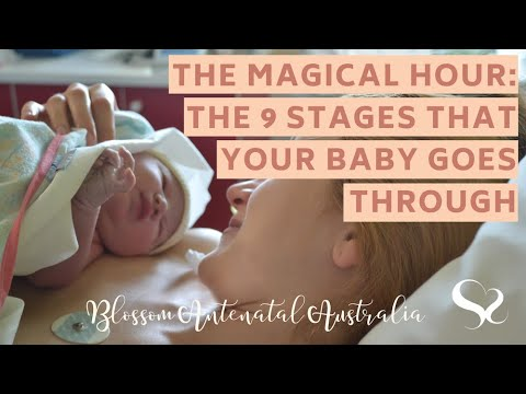 The Magical Hour After Birth & the 9 Stages Your Baby Goes ...