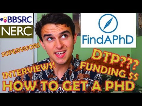 7 Tips To Getting A Funded PhD In The UK