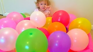 Learn Colors with Balloons For Toddlers/Colored Balloons/Aprende Colores con Globos de colores/
