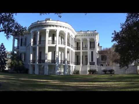 USA КИНО 1018. Привет из Луизианы! Посещение особняка на плантации Nottoway Plantation.