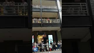 Crazy diabolo tricks: Man shows amazing diabolo juggling skills