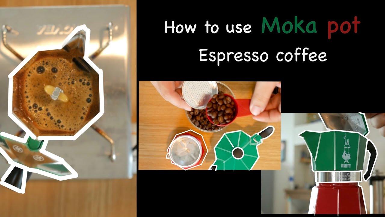 How to use Moka pot  espresso coffee [tutorial]