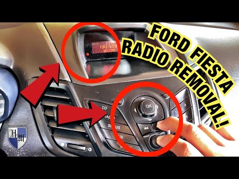 FORD FIESTA RADIO NOT WORKING REMOVAL FAST & EASY HOW TO FIX – REPLACE RADIO FORD FIESTA & MANY MORE
