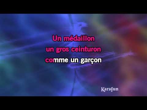 Karaoké Comme un garçon - Sylvie Vartan '