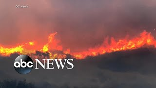 Climate change affecting record wildfire season