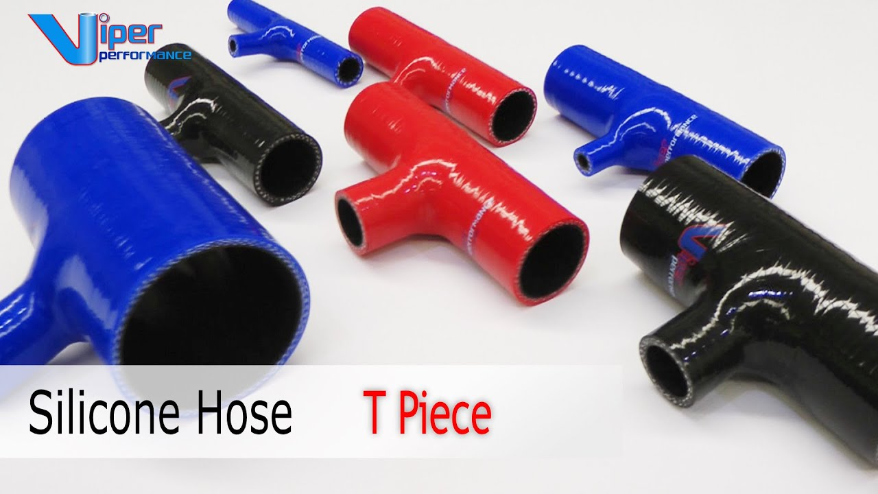 T Piece for 32mm Dump Valve Fitting Silicone Hose Choice of Diameter /& Colour