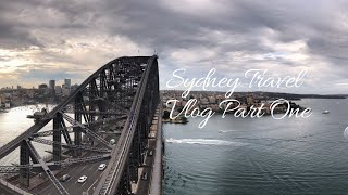 Sydney Travel Vlog-Part1  YHA stay  Visiting Sydney Harbour Meeting our friends