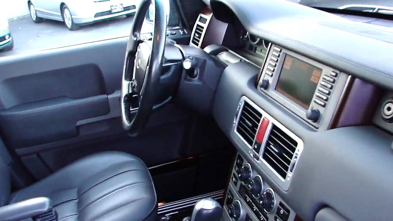2004 Land Rover Range Rover HSE for sale - YouTube