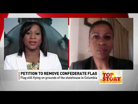 Karen Hunter on petition to remove Confederate Flag - YouTube