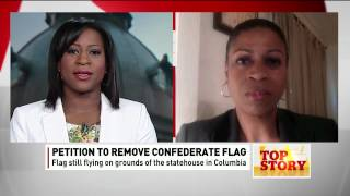 Karen Hunter on petition to remove Confederate Flag