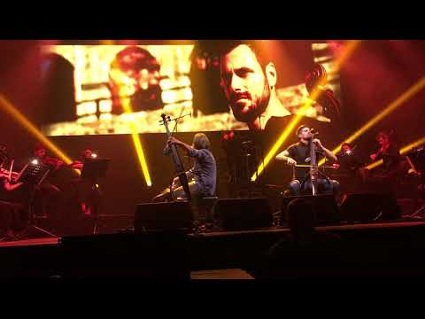 2 CELLOS - Now We Are Free - Live from Bratislava
