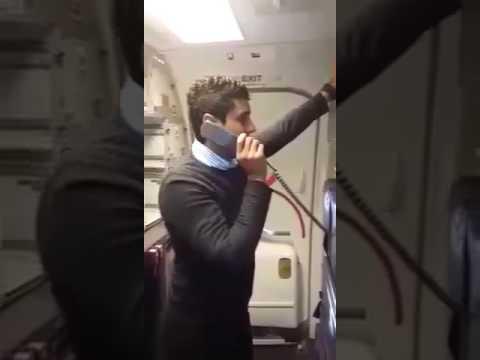 Hilarious Kulula flight attendant, Adrian Thomas
