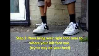 how to c walk step by step tutorial