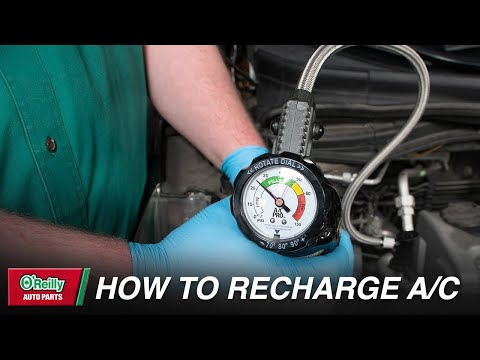 How To: Recharge Your Vehicle's Air Conditioning