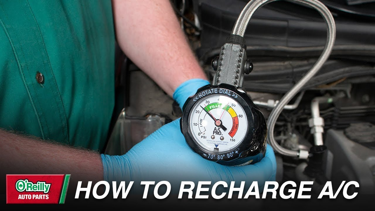 Recharge The A/C In Your Vehicle | O'Reilly Auto Parts | O'Reilly
