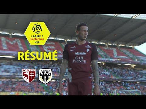 FC Metz - Angers SCO ( 1-2 ) - Résumé - (FCM - SCO) / 2017-18