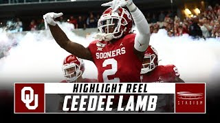 Oklahoma WR CeeDee Lamb Highlight Reel - 2019 | Stadium