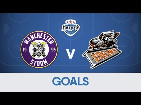 Goals: Manchester Storm 6-2 Sheffield Steelers