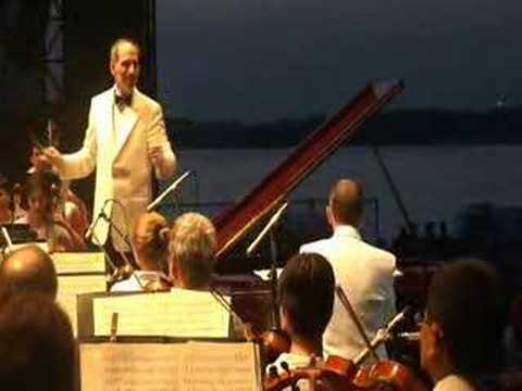 Senator Lamar Alexander Plays During Sunset Symphony