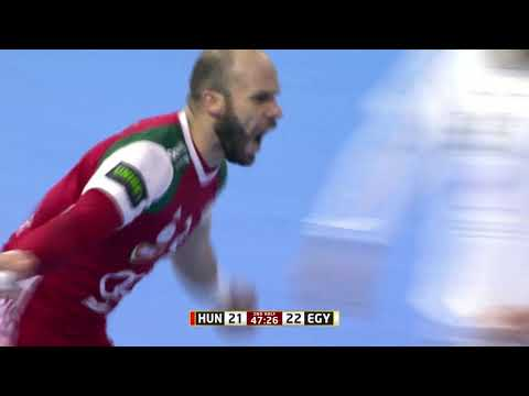 Hungary 30:30 Egypt (Group D) | IHFtv - Germany Denmark 2019