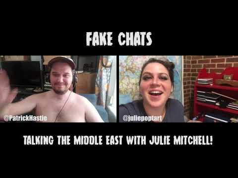 Comedians Talking World Politics | Fake Chats | Julie Mitchell
