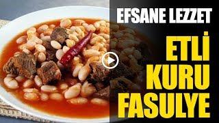 Efsane Etli Kuru Fasulye - Gaziantep Mutfağı I Legend, Beans With Meat - Gaziantep Cuisine