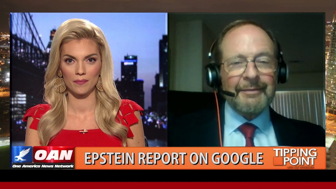 "OAN Data Scientist Who Exposes Google Bias Says ""Shame On You Hillary Clinton!"""