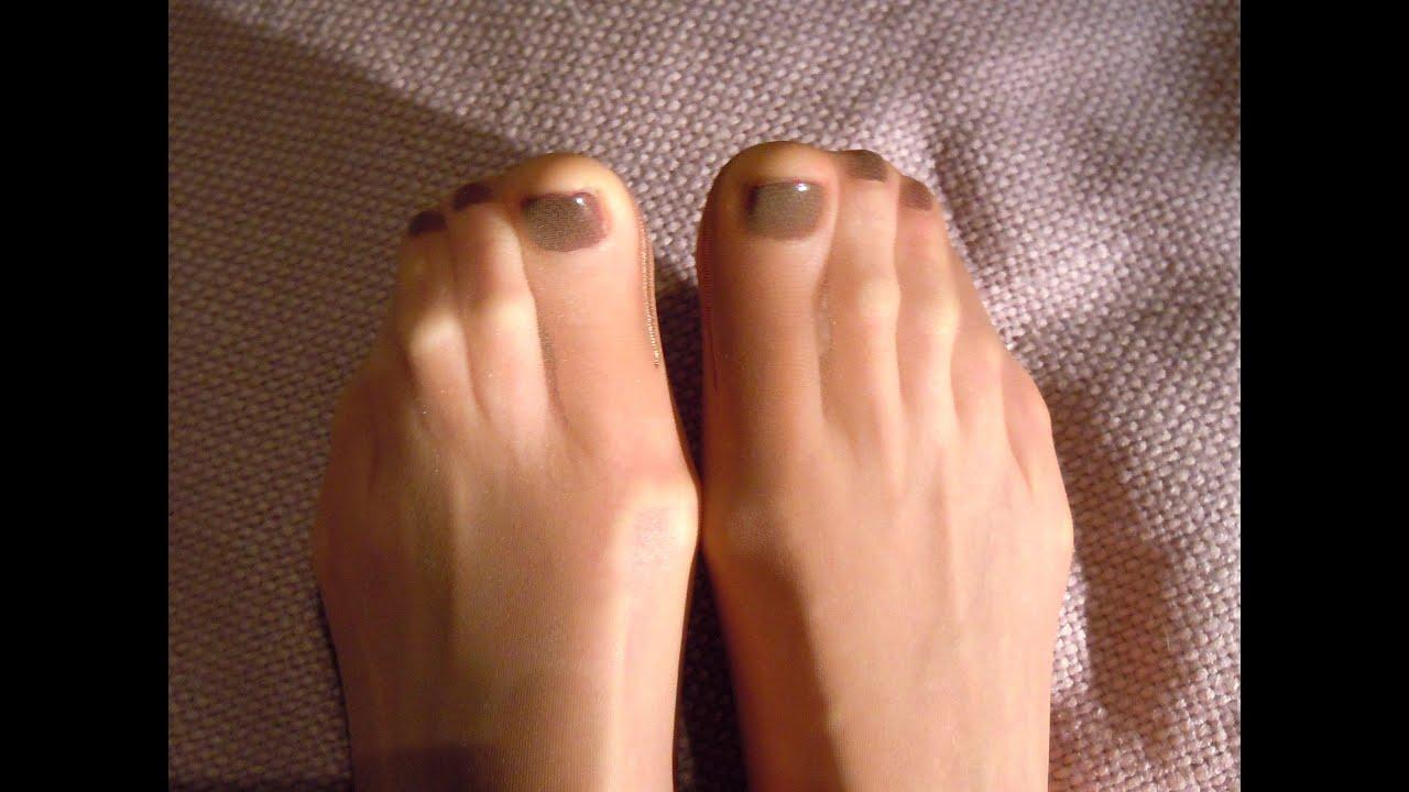 Pantyhose feet tubes