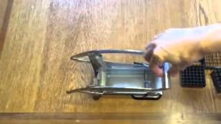 How To Use Westmark Potato Vegetable French Fry Cutter