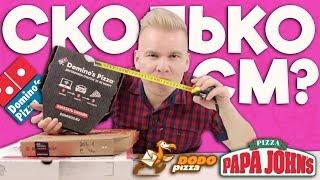 Как нас обманывают пиццерии? / Додо, Domino's, Папа Джонс