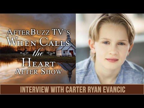 When Calls The Heart | Carter Ryan Evancic Interview | AfterBuzz TV