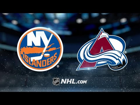 Landeskog, MacKinnon power Avs past Islanders, 6-1
