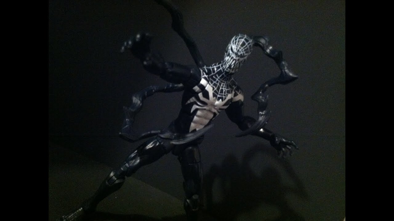 marvel legends superior venom 2015 spider man rhino baf