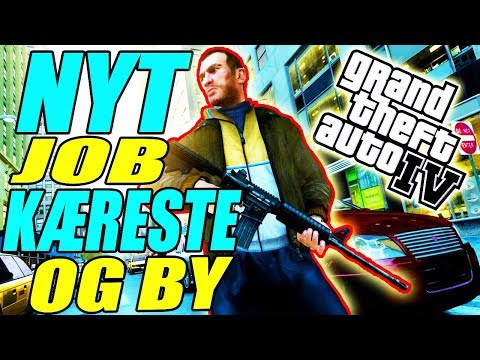 NY KÆRESTE, JOB OG BY - VELKOMMEN TIL LIBERTY CITY - GTA GAMEPLAY - DANSK GTA 4 STORY MODE - [#1]