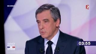 """François Fillon dans """"15 minutes pour convaincre"""" sur France 2"""