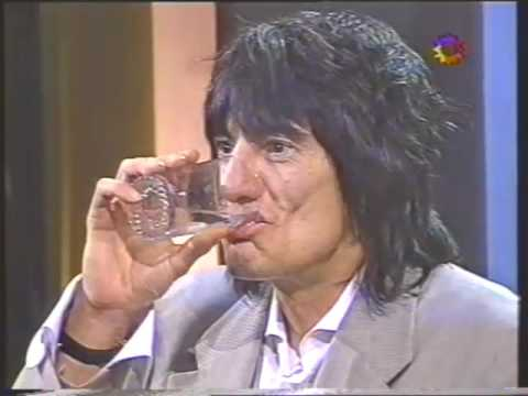 Ronnie Wood 1996  Argentina, Badia , Canal 13