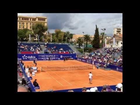 Open de Nice Côte d'Azur 2015, Quarts de Finale