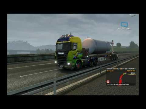 Euro Truck 2 Multplayer (Scannia R) Salzburg- bratislava