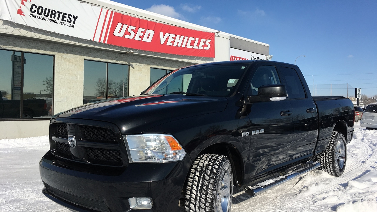 2010 Dodge Ram 1500 | Sport | Brilliant Black Pearl | Courtesy Chrysler